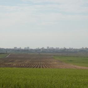 Grenze zu Gaza, Foto: Fabian Schmidmeier