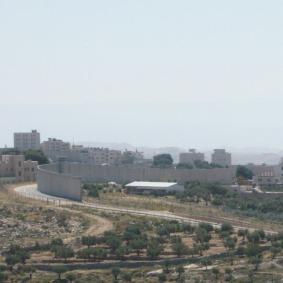 Trennmauer bei Betlehem, Foto: Fabian Schmidmeier