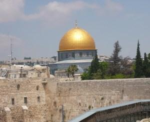 Felsendom und Klagemauer in Jerusalem, Foto: Fabian Schmidmeier