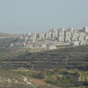 Siedlungsblock Efrat bei Betlehem, Foto: Fabian Schmidmeier