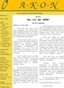 Bamberger Orientalistenzeitschrift Cover
