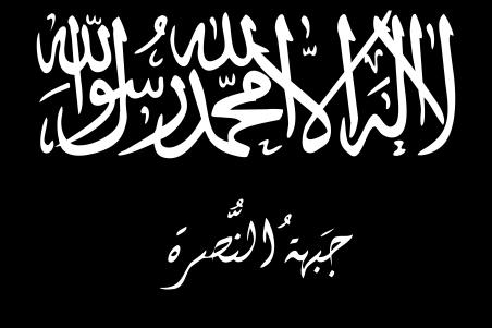 Flagge der Nusra-Front