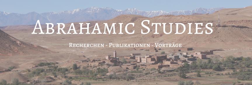 Relaunch: DerOrient.com heißt jetzt AbrahamicStudies